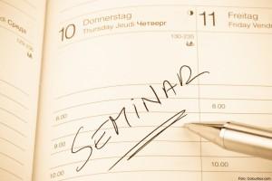 entry in the calendar: seminar