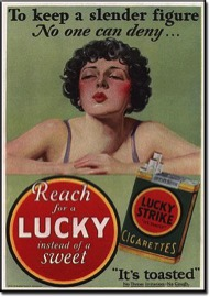 Lucky Strike Werbeanzeige (1925)