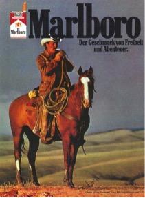 Marlboro Werbeanzeige (1980)